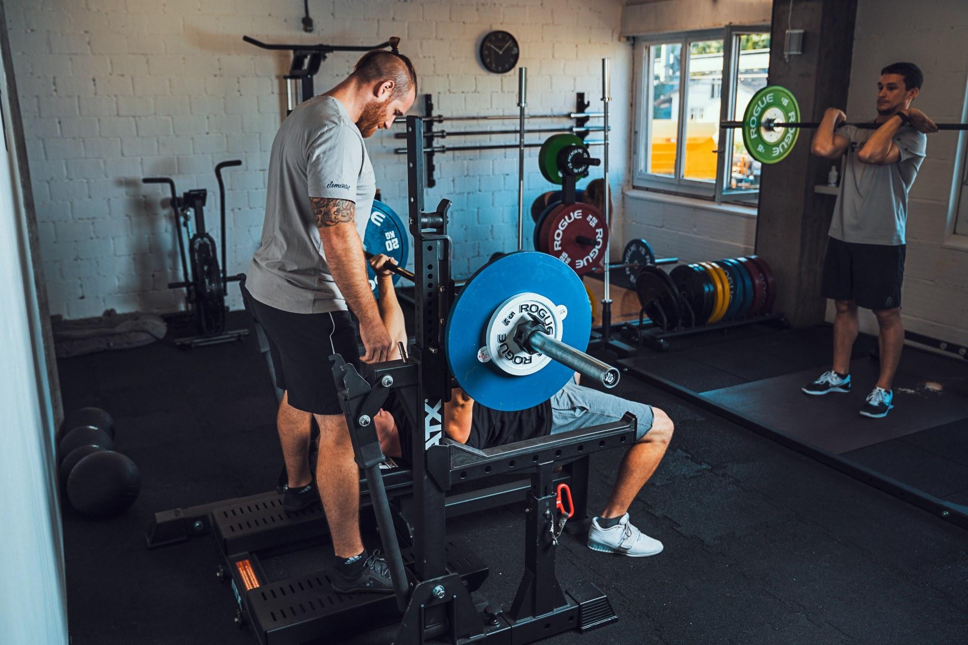 Benchpressing - Elemental Training