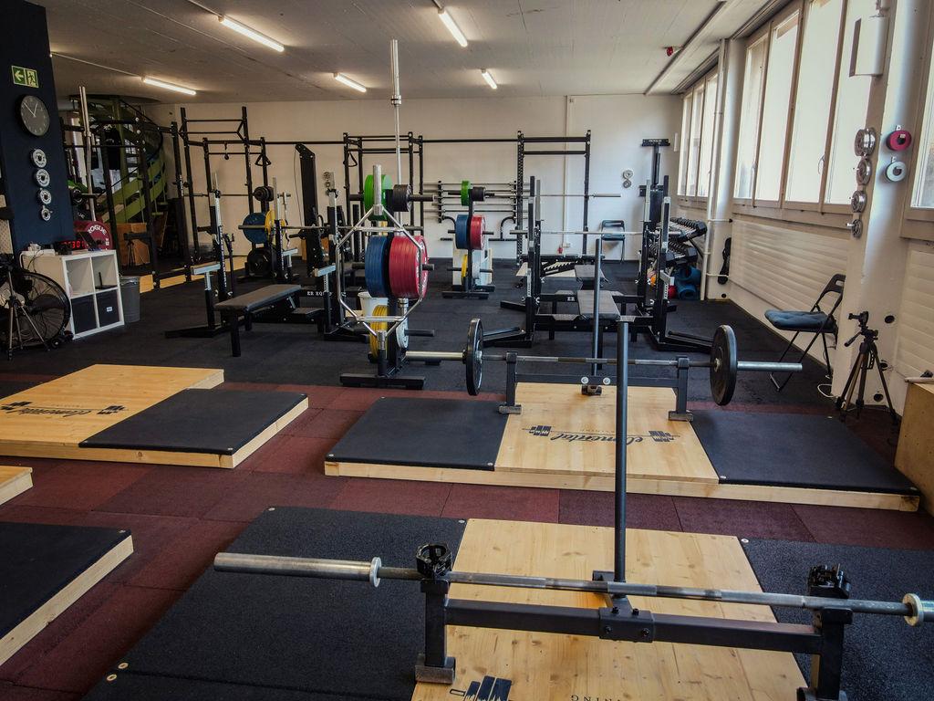 Unser neues Gym